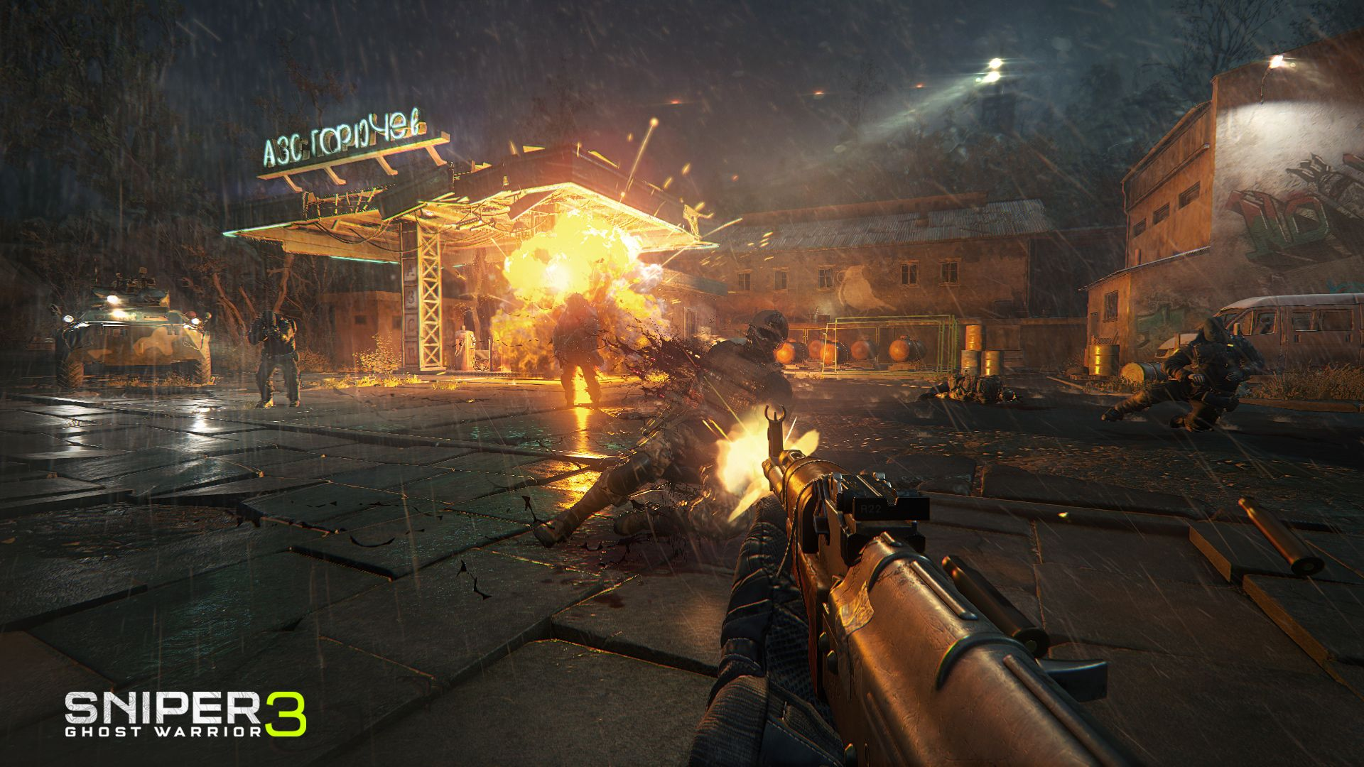 KHAiHOM.com - Sniper Ghost Warrior 3 - Sniper Rifle McMillan TAC-338A