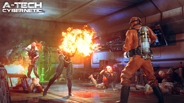 Скриншот №2 к A-Tech Cybernetic VR