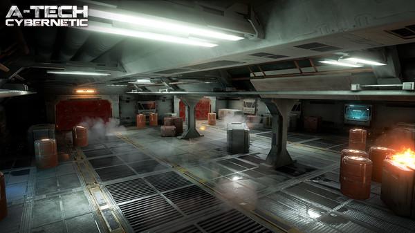 Скриншот №11 к A-Tech Cybernetic VR