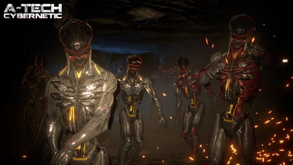 Скриншот №10 к A-Tech Cybernetic VR