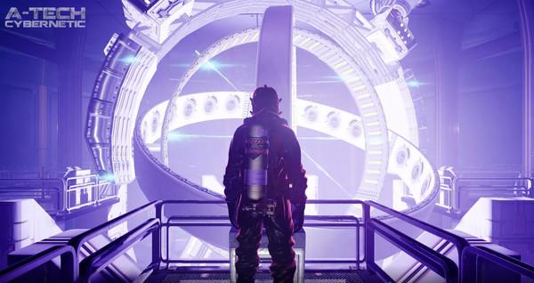 Скриншот №1 к A-Tech Cybernetic VR