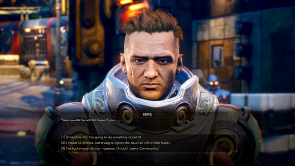 скриншот The Outer Worlds 1