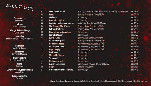 скриншот 2Dark Official Soundtrack and Artbook 1
