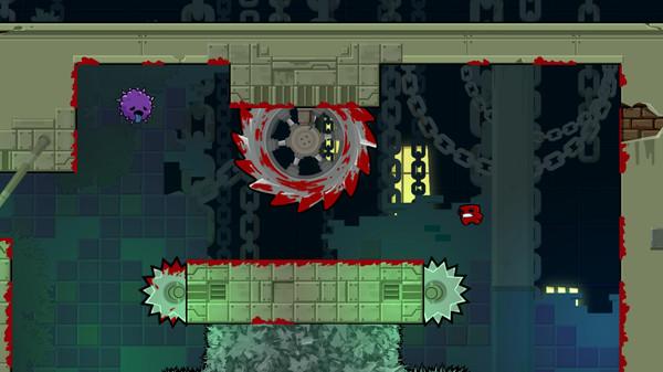 Super Meat Boy Forever скриншот