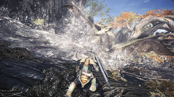 Monster Hunter: World (MHW) скриншот
