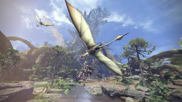 Скриншот №2 к Monster Hunter World