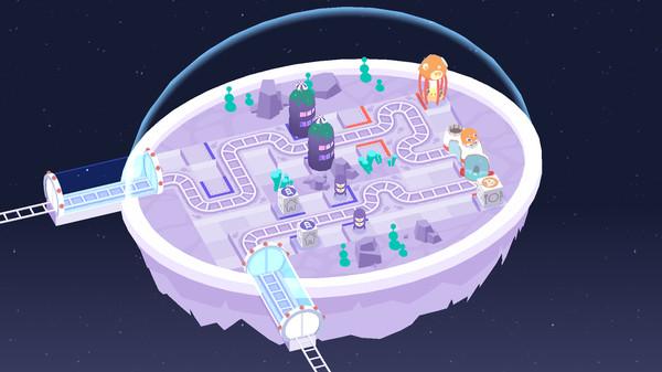 Screenshot of Cosmic Express