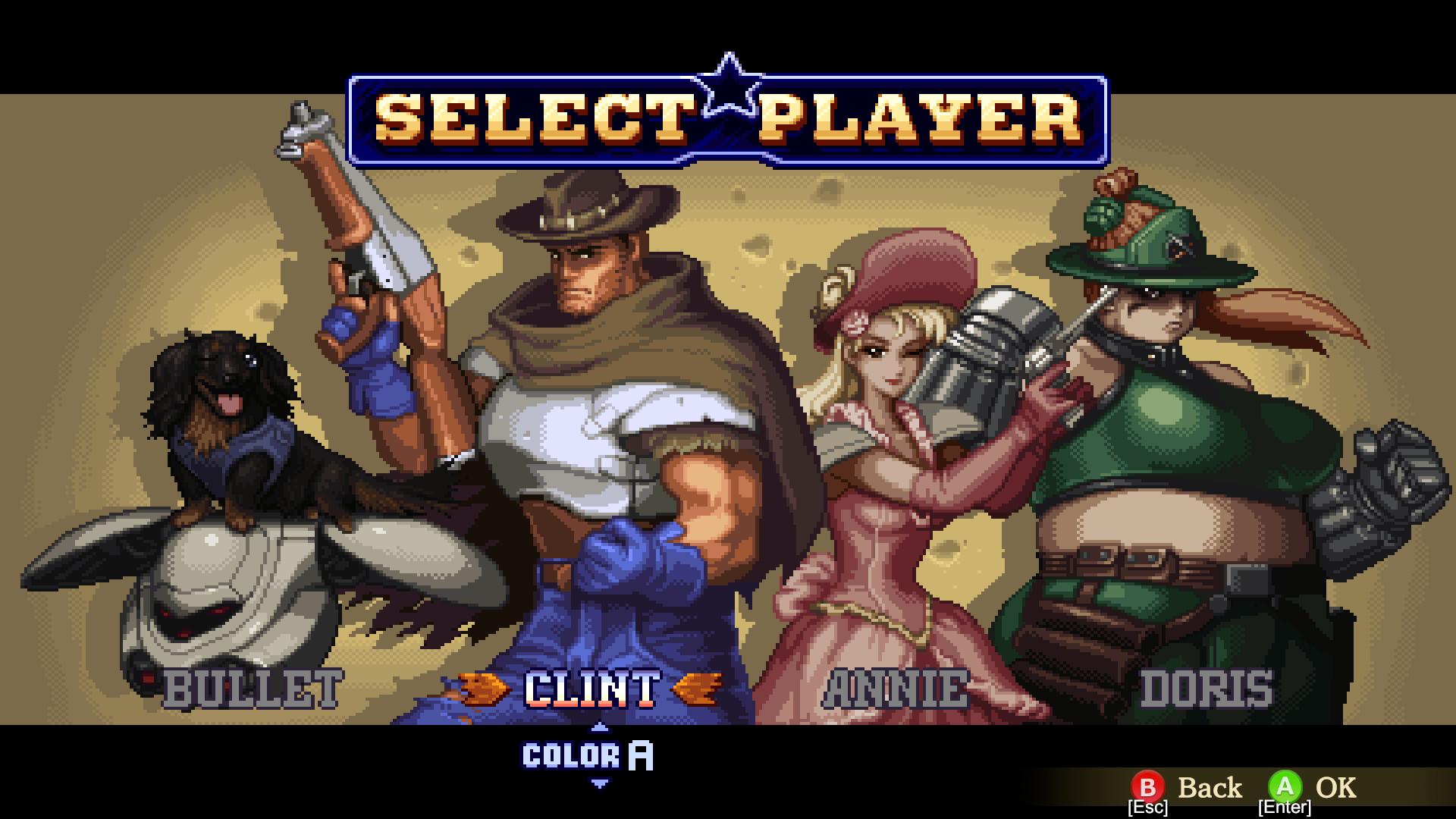 Wild Guns Reloaded no Steam