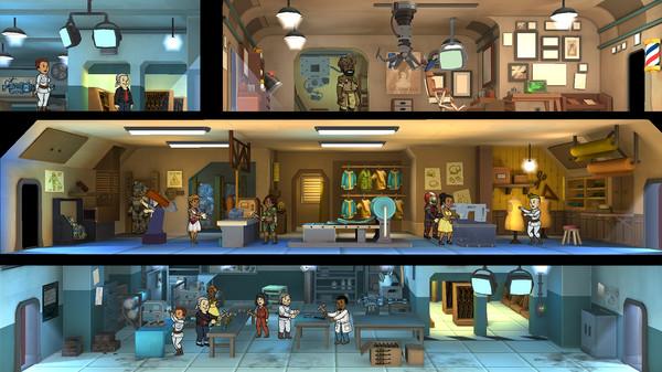 Скриншот №1 к Fallout Shelter