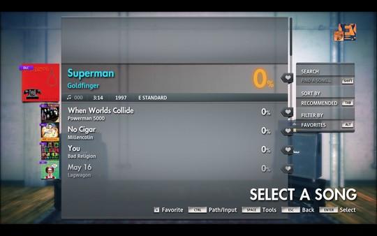 "Скриншот №1 к Rocksmith® 2014 Edition – Remastered – Goldfinger - ""Superman"""