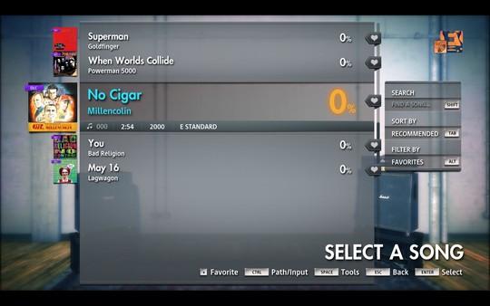 "Скриншот №3 к Rocksmith® 2014 Edition – Remastered – Millencolin - ""No Cigar"""