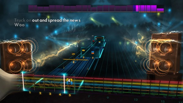 Скриншот №1 к Rocksmith® 2014 Edition – Remastered – Classic Riff Song Pack