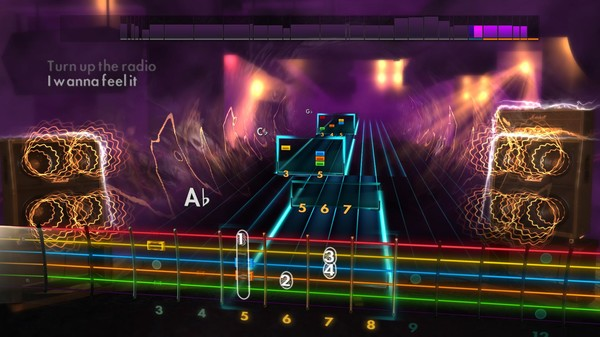 Скриншот №5 к Rocksmith® 2014 Edition – Remastered – Arena Rock Song Pack