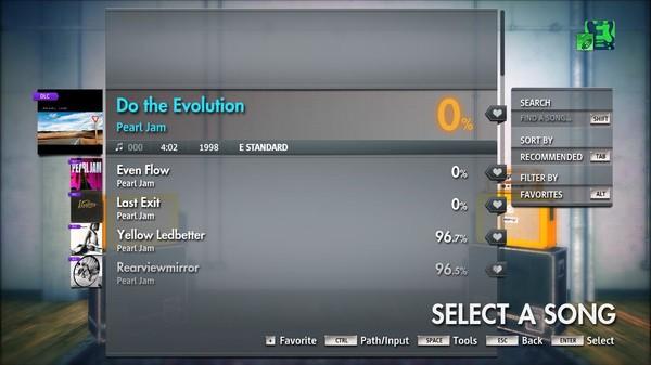 "Скриншот №5 к Rocksmith® 2014 Edition – Remastered – Pearl Jam - ""Do the Evolution"""