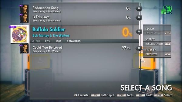 "Скриншот №3 к Rocksmith® 2014 Edition – Remastered – Bob Marley  The Wailers - ""Buffalo Soldier"""