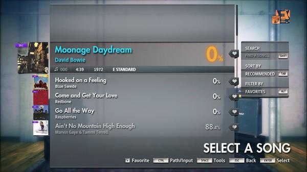 "Скриншот №4 к Rocksmith® 2014 Edition – Remastered – David Bowie - ""Moonage Daydream"""