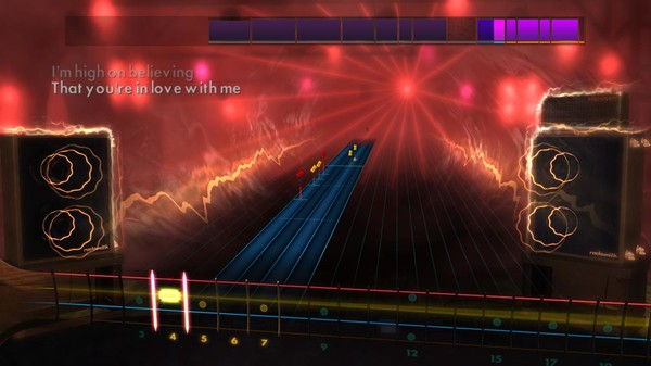 "Скриншот №1 к Rocksmith® 2014 Edition – Remastered – Blue Swede - ""Hooked on a Feeling"""