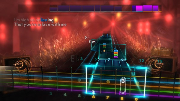 "Скриншот №5 к Rocksmith® 2014 Edition – Remastered – Blue Swede - ""Hooked on a Feeling"""