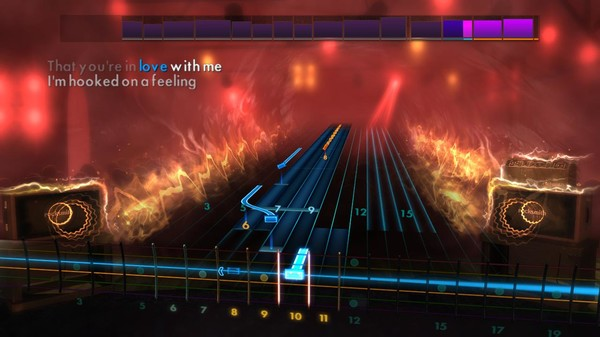 "Скриншот №2 к Rocksmith® 2014 Edition – Remastered – Blue Swede - ""Hooked on a Feeling"""