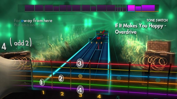 "Скриншот №3 к Rocksmith® 2014 Edition – Remastered – Sheryl Crow - ""If It Makes You Happy"""