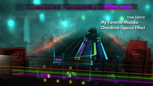 "Скриншот №3 к Rocksmith® 2014 Edition – Remastered – Sheryl Crow - ""My Favorite Mistake"""