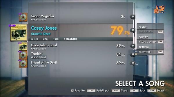 """Скриншот №5 к Rocksmith® 2014 Edition – Remastered – Grateful Dead - """"Casey Jones"""""""