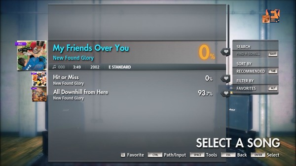 "Скриншот №5 к Rocksmith® 2014 Edition – Remastered – New Found Glory - ""My Friends Over You"""