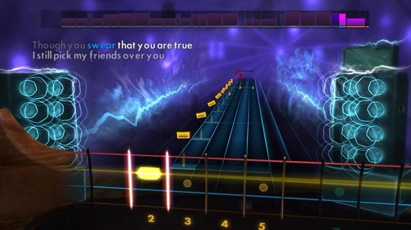 "Скриншот №2 к Rocksmith® 2014 Edition – Remastered – New Found Glory - ""My Friends Over You"""