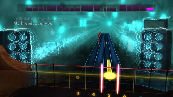 "Скриншот №3 к Rocksmith® 2014 Edition – Remastered – New Found Glory - ""My Friends Over You"""