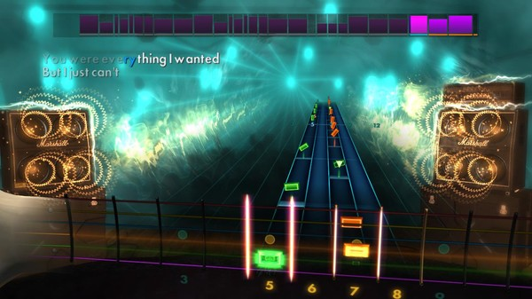"Скриншот №4 к Rocksmith® 2014 Edition – Remastered – New Found Glory - ""My Friends Over You"""