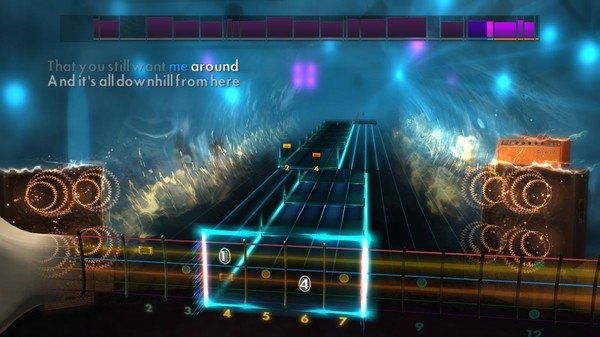 """Скриншот №1 к Rocksmith® 2014 Edition – Remastered – New Found Glory - """"All Downhill from Here"""""""