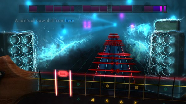"""Скриншот №5 к Rocksmith® 2014 Edition – Remastered – New Found Glory - """"All Downhill from Here"""""""