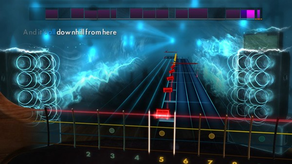 """Скриншот №4 к Rocksmith® 2014 Edition – Remastered – New Found Glory - """"All Downhill from Here"""""""