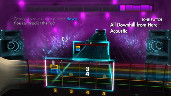 """Скриншот №2 к Rocksmith® 2014 Edition – Remastered – New Found Glory - """"All Downhill from Here"""""""
