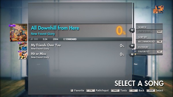 """Скриншот №3 к Rocksmith® 2014 Edition – Remastered – New Found Glory - """"All Downhill from Here"""""""