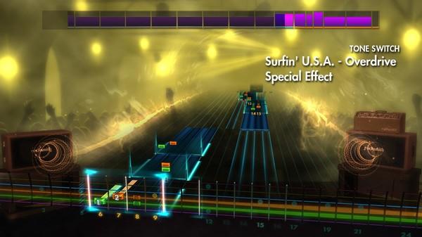 Скриншот №5 к Rocksmith® 2014 Edition – Remastered – Surf Rock Song Pack II