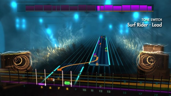 "Скриншот №1 к Rocksmith® 2014 Edition – Remastered – The Lively Ones - ""Surf Rider"""