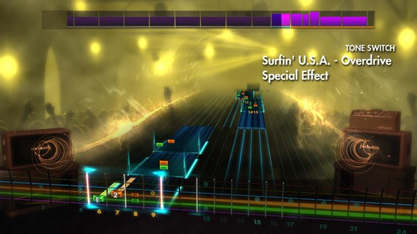 "Скриншот №1 к Rocksmith® 2014 Edition – Remastered – The Beach Boys - ""Surfin U.S.A."""