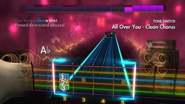"Скриншот №4 к Rocksmith® 2014 Edition – Remastered – Live - ""All Over You"""