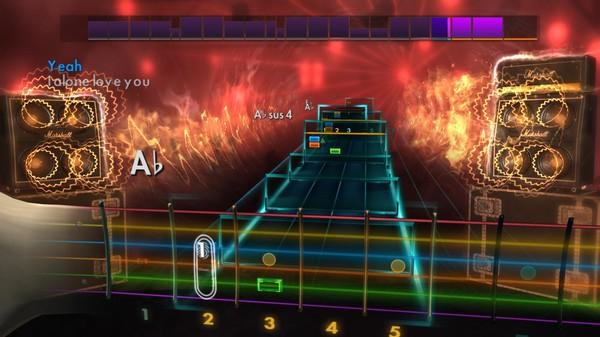 "Скриншот №3 к Rocksmith® 2014 Edition – Remastered – Live - ""I Alone"""
