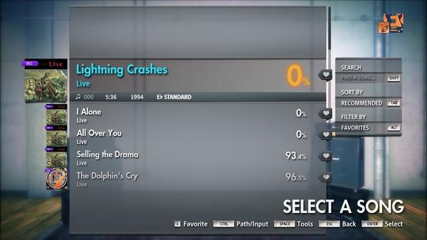"Скриншот №5 к Rocksmith® 2014 Edition – Remastered – Live - ""Lightning Crashes"""