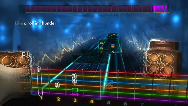 "Скриншот №4 к Rocksmith® 2014 Edition – Remastered – Live - ""Lightning Crashes"""