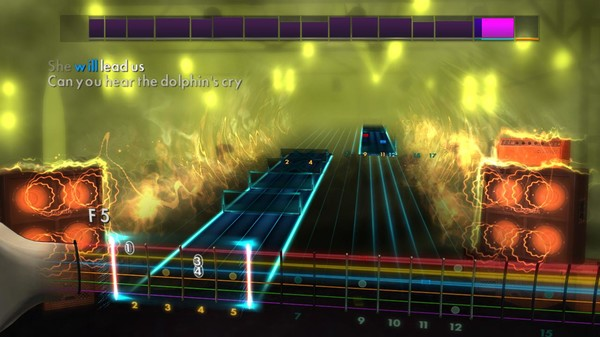 """Скриншот №5 к Rocksmith® 2014 Edition – Remastered – Live - """"The Dolphins Cry"""""""