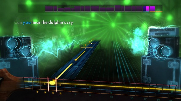 """Скриншот №3 к Rocksmith® 2014 Edition – Remastered – Live - """"The Dolphins Cry"""""""