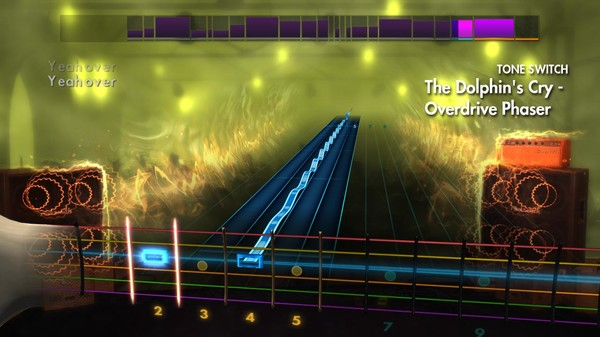"""Скриншот №4 к Rocksmith® 2014 Edition – Remastered – Live - """"The Dolphins Cry"""""""
