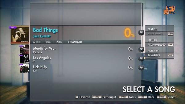 """Скриншот №3 к Rocksmith® 2014 Edition – Remastered – Jace Everett - """"Bad Things"""""""