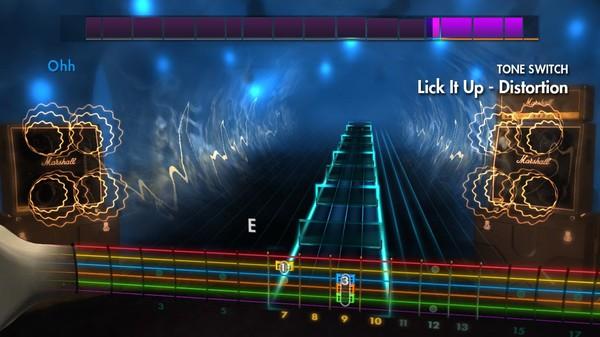 "Скриншот №1 к Rocksmith® 2014 Edition – Remastered – Kiss - ""Lick It Up"""