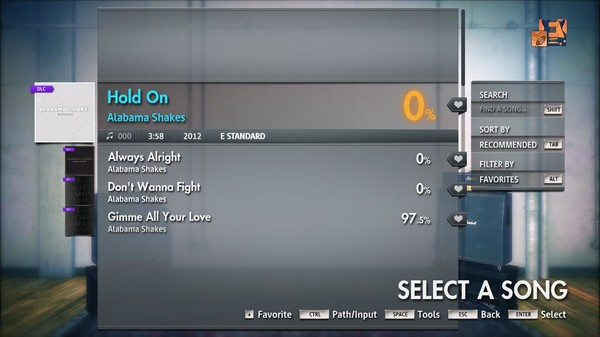 "Скриншот №4 к Rocksmith® 2014 Edition – Remastered – Alabama Shakes - ""Hold On"""