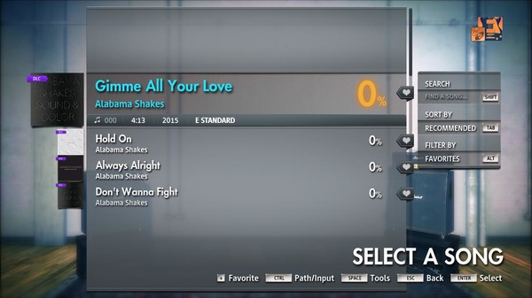 "Скриншот №4 к Rocksmith® 2014 Edition – Remastered – Alabama Shakes - ""Gimme All Your Love"""