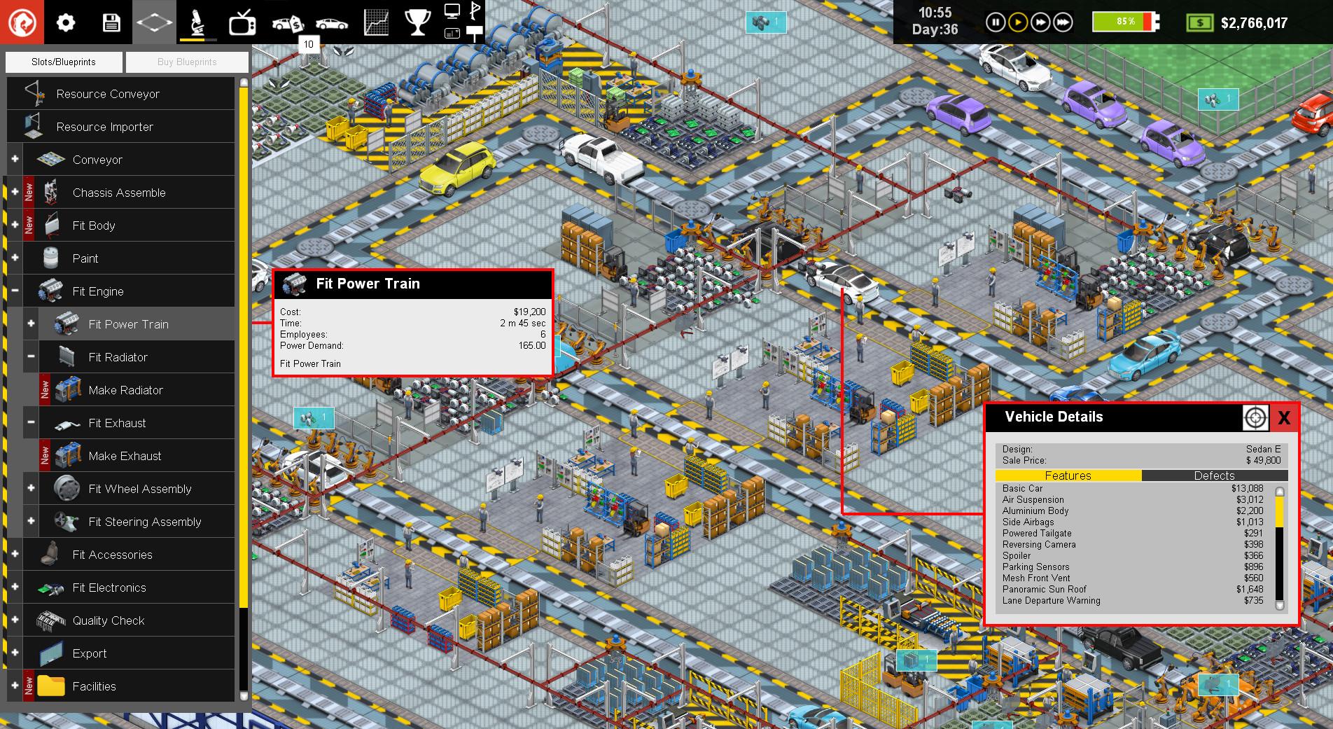 Production Line screenshot 1